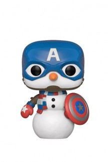 Pop! Marvel: Holiday - Capitan America