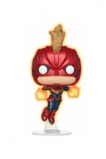Pop! Marvel: Captain Marvel Flying Glow Exclusive