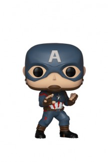 Pop! Marvel: Vengadores Endgame - Capitan America IE