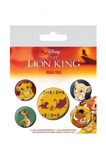 The Lion King - Pin Badges 5-Pack Hakuna Matata