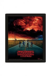 Stranger Things - Framed 3D Lenticular Poster Pack Mind Flayer