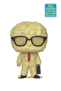 Pop! Office Space - Sticky Note Man SDCC19