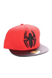 Marvel Spider-Man - Adjustable Cap Black Spider