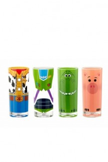 Toy Story 4 - Vasos Set Buzz, Woody, Rex & Hamm