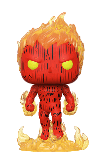 Pop! Movies: Fantastic Four - Human Torch