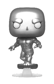 Pop! Movies: Fantastic Four - Silver Surfer