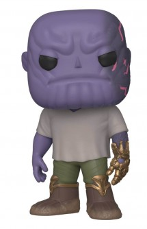 Pop! Marvel: Vengadores: Endgame - Casual Thanos w/Guantelete