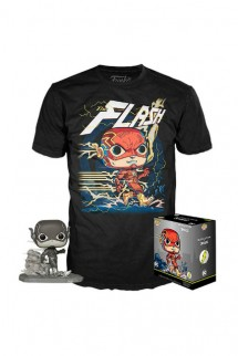 Camiseta Pop! Tees Set de Minifigura y Camiseta Flash Exclusivo By Jim Lee