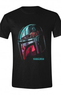 Star Wars: Camiseta The Mandalorian Reflection