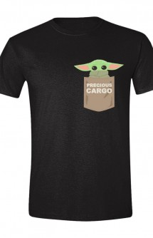Star Wars: Camiseta The Mandalorian The Child Pocket