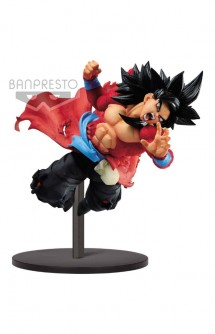 Super Dragon Ball Heroes Statue PVC Super Saiyan 4 Son Goku Xeno 9th Anniversary