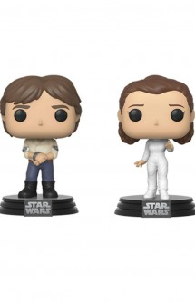 Pop! Star Wars: Han & Leia Empire Strikes Back 40th Anniversary Pack 2