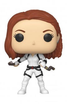 Pop! Marvel: Black Widow - Black Widow (White Suit)