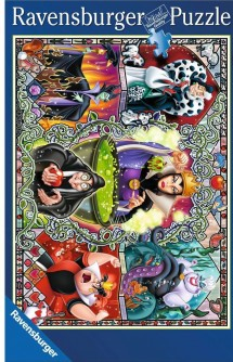 Disney Puzzle Wicked women disney Ravensburger 1000 p