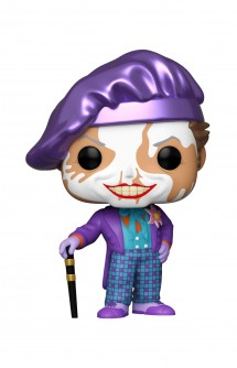 Pop! Heroes: Batman 1989 - Joker w/ Hat (Chase)