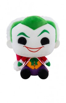"Pop! Plush: DC Holiday - 7"" Santa Joker"