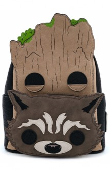 Loungefly - Guardianes de la Galaxia Vol.2 - Mini Mochila Rocket Groot
