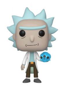 Pop! Animation: Rick & Morty - Rick w/ Crystal Skull
