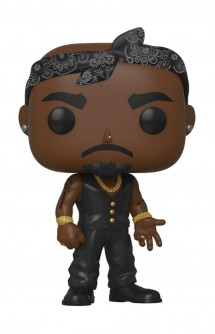 Pop! Rocks: Tupac - Vest w/ Bandana