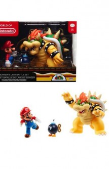 Nintendo - Mario vs Bowser Battle Figures