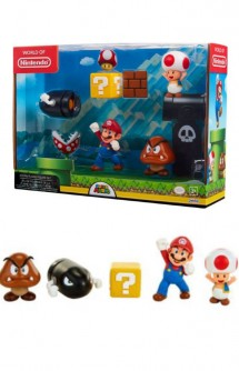 Nintendo - Super Mario Figures Pack