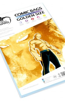 Ultimate Guard Comic Bags Fundas con cierre reutilizable de Comics Golden Size