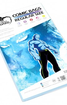Ultimate Guard Comic Bags Fundas con cierre reutilizable de Comics Regular Size