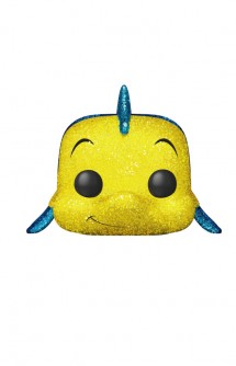 Pop! Disney: La Sirenita - Flounder Diamond Collection Ex