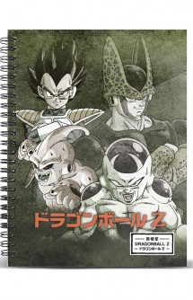 Dragon Ball - Libreta A4 Evil