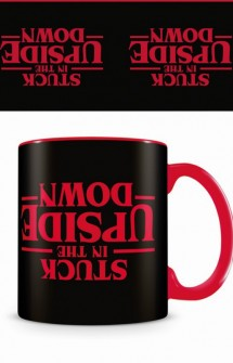 "Stranger Things - Taza ""Stuck in the Upside Down"""