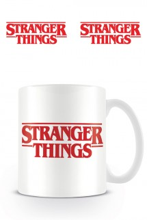 Stranger Things - Taza Logo Stranger Things Blanca
