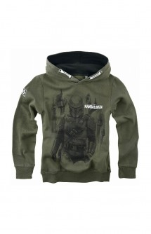 Star Wars - The Mandalorian Hunter Sudadera Niño