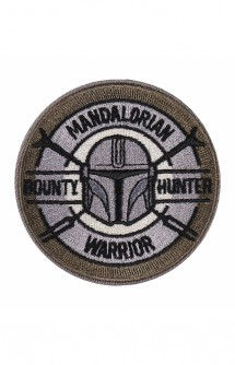 Star Wars The Mandalorian Parche Mandalorian Warrior