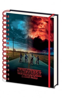 Stranger Things - Libreta 3D Cover Mind Flayer A5