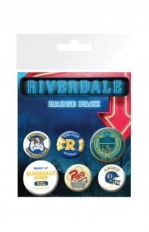 Riverdale - Pack 6 Chapas Mix