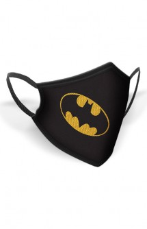 DC Comics: Batman - Mascarilla Logo Batman Kids