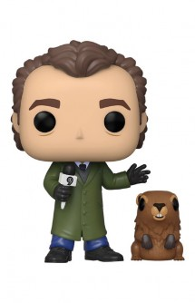 Pop! Movies: Groundhog Day - Phil w/ PunxsutawneyPhil