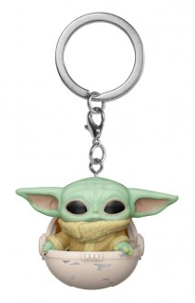 Pop! Keychain: Star Wars: The Mandalorian - The Child w/Hover Pram