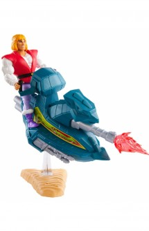 Masters of the Universe - Figura Prince Adam with Sky Sled Origin