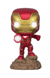 Pop! Marvel: Infinity War - Iron Man (Lights Up!) Ex