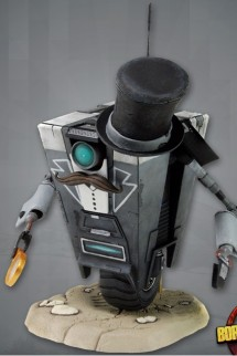 Borderlands Gentleman Caller Claptrap 4-inch deluxe action figure limited
