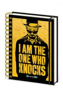 "Breaking Bad Libreta A5 ""I´m The One Who Knocks"""