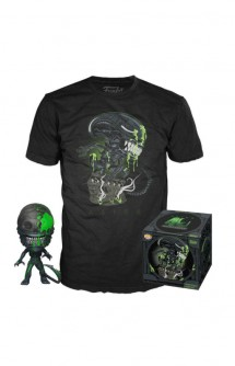 Pop Tee! 40th Xenomorph Exclusive T-shirt and Minifigure Set