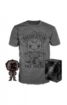 Camiseta Pop! Tees Set de Minifigura y Camiseta Joker Exclusivo