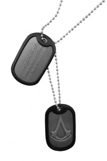 "Assassin´s Creed - Colgante ""Dog Tags Crest"""