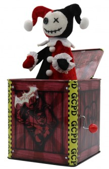 DC Comics - Caja de Música Harley Quinn (Jack in the Box)