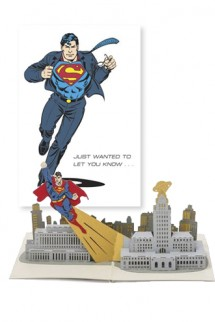 DC Comics - Greeting Card 4D Superman