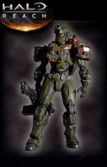 Halo Reach Play Arts Figure Jorge
