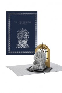Game of Thrones - Greeting Card 4D Iron Throne