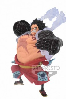 One Piece Estatua PVC King Of Artist Monkey D.Luffy Gear 4 Wanokuni